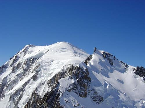 Mont Blanc from Mont Blanc du...