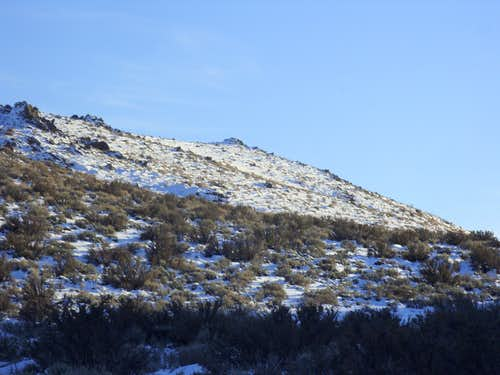 The south summit of the Steamboat Hills