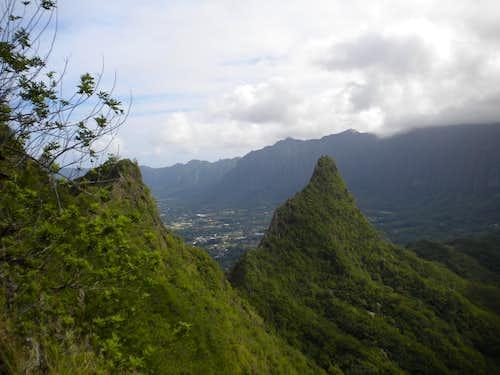 olomana 2nd & 3rd peaks