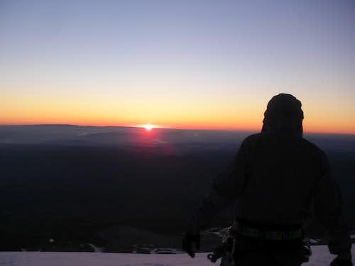 Sunrise on the Sunshine Route