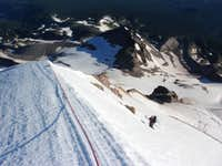 Top of the headwall