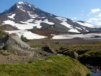 North side of South Sister