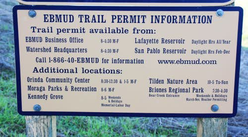 Permit info for Rocky Ridge