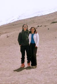 With Andrea in Cotopaxi.