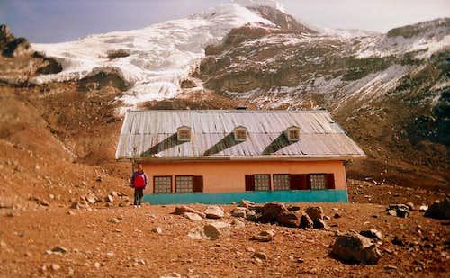 Andrea in Chimborazo