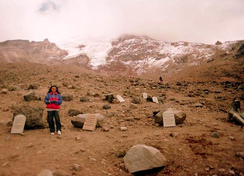 Chimborazo grave yard