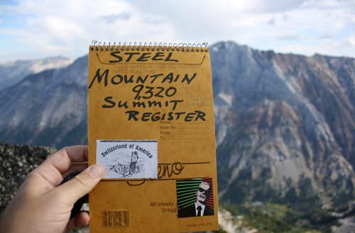 The summit register
