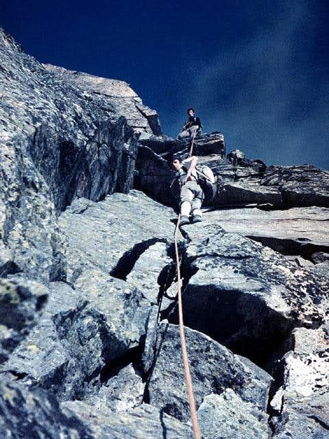 Cresta    di Flua  SE ridge  one   Photos     Diagrams      Topos   SummitPost