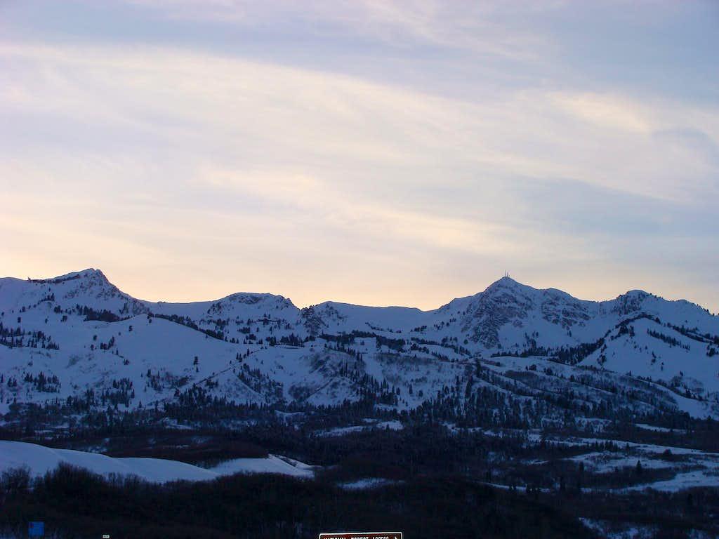Mt. Ogden Range East Aspect
