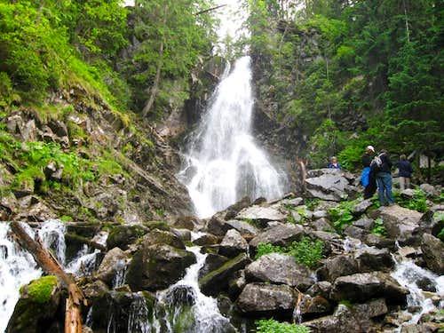 Rohacki waterfall