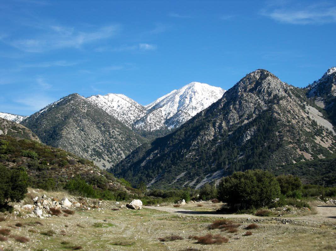 San Gabriel Mountains >> San Gabriel Mountains : Photos, Diagrams & Topos : SummitPost