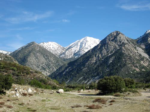 San Gabriel Mountains