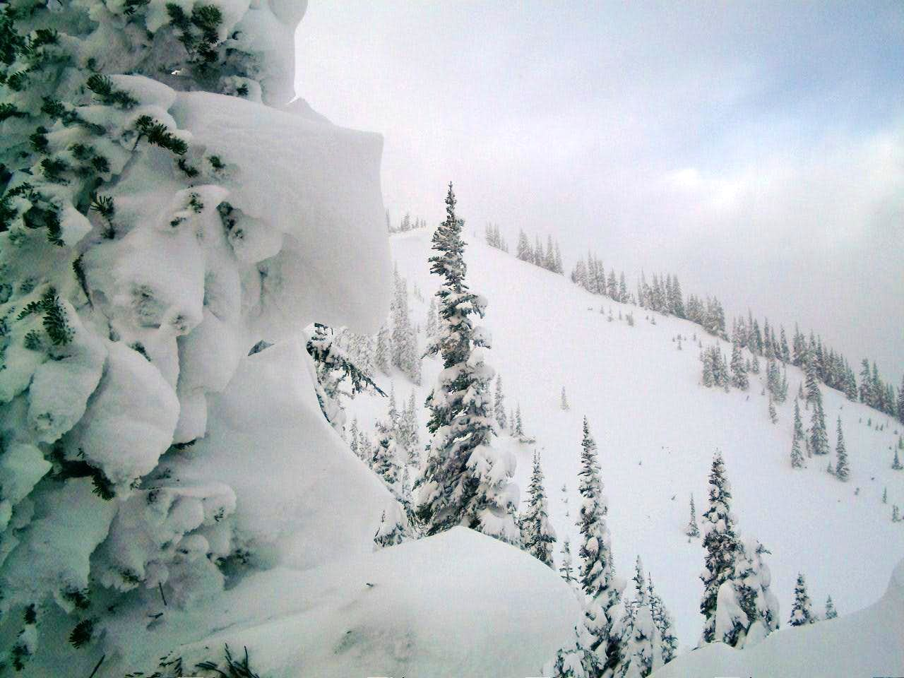 Blizzards Blasting on Bullion Peak