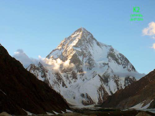 K2 Peak, Concordia