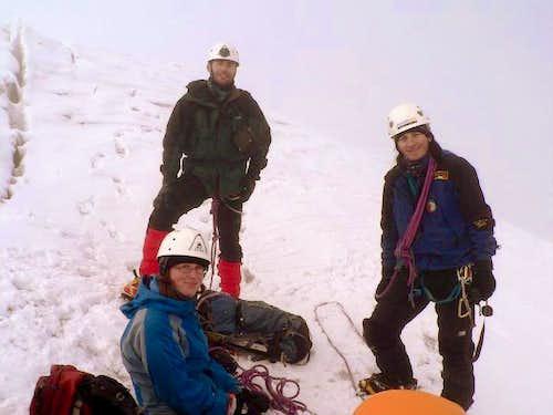 Illiniza Sur summit