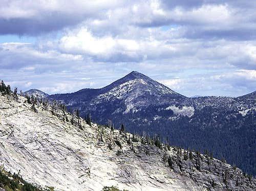 Smoke and Selkirk Granite - Pyramid Peak