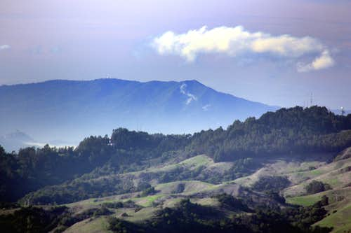Mt. Tamalpais from Rocky Ridge