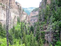 Hanging Lake Canyon