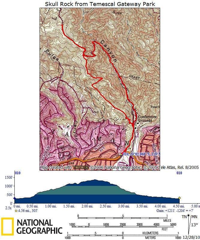 Temescal Ridge/Canyon Loop