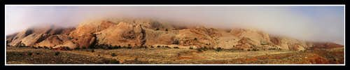 Foggy at Capitol Reef