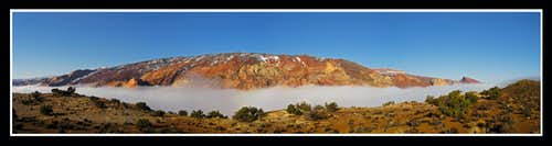 Capitol Reef and Fog