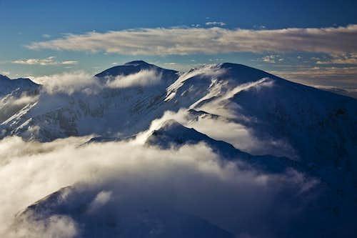 Windy Tatra ridges