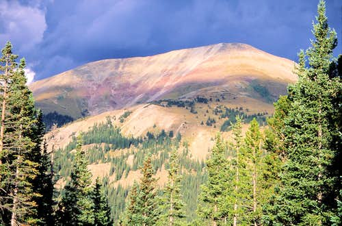 Red Mountain from the west
