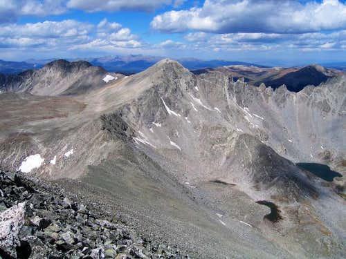 Fletcher Peak from Quandary's...