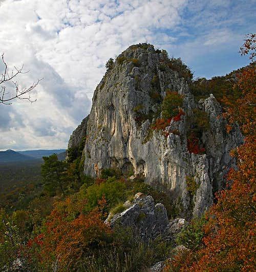 Crags near Istarske toplice