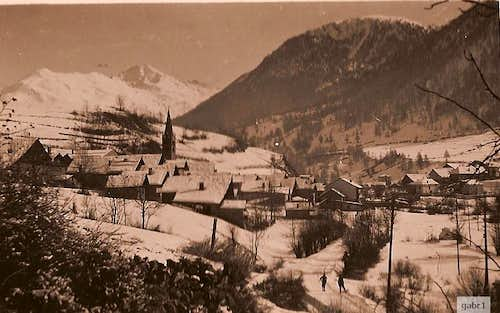 Cesana in winter