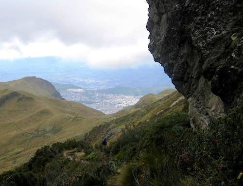 Quito from Rucu Pichincha