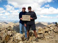 Mt Elbert summit