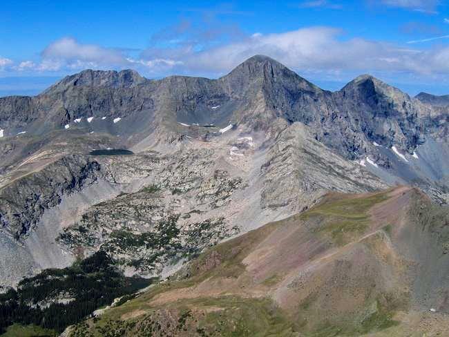 Blanca Peak, Little Bear, and...