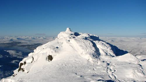 Schiehallion in Winter