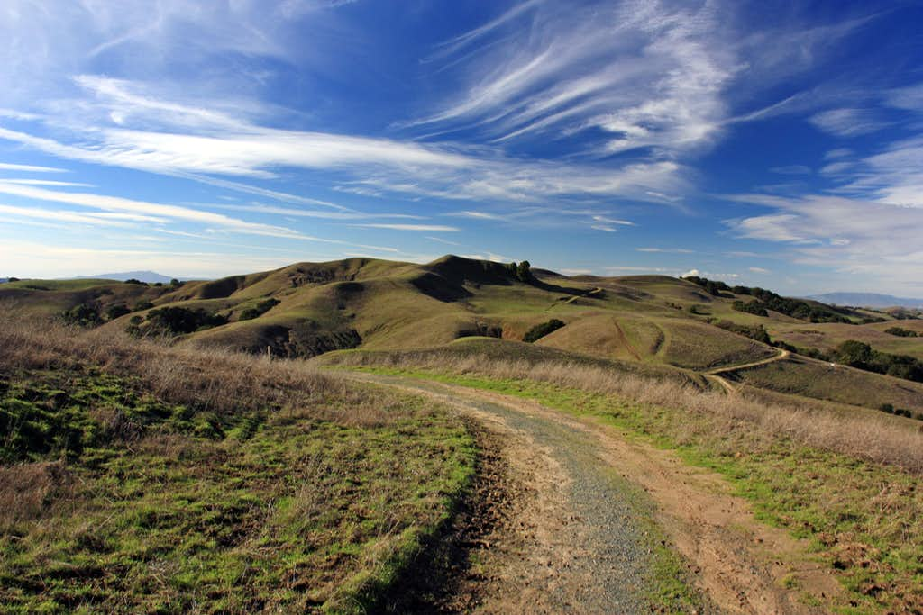West from the Briones Crest Trail