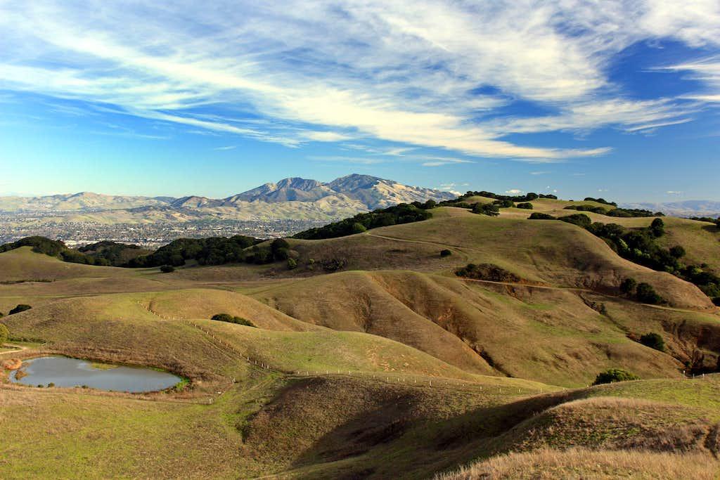 Mott Peak east view