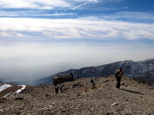 Tehran from Siahsang Hut