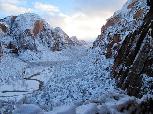 Zion National Park 2010 Snowstorm