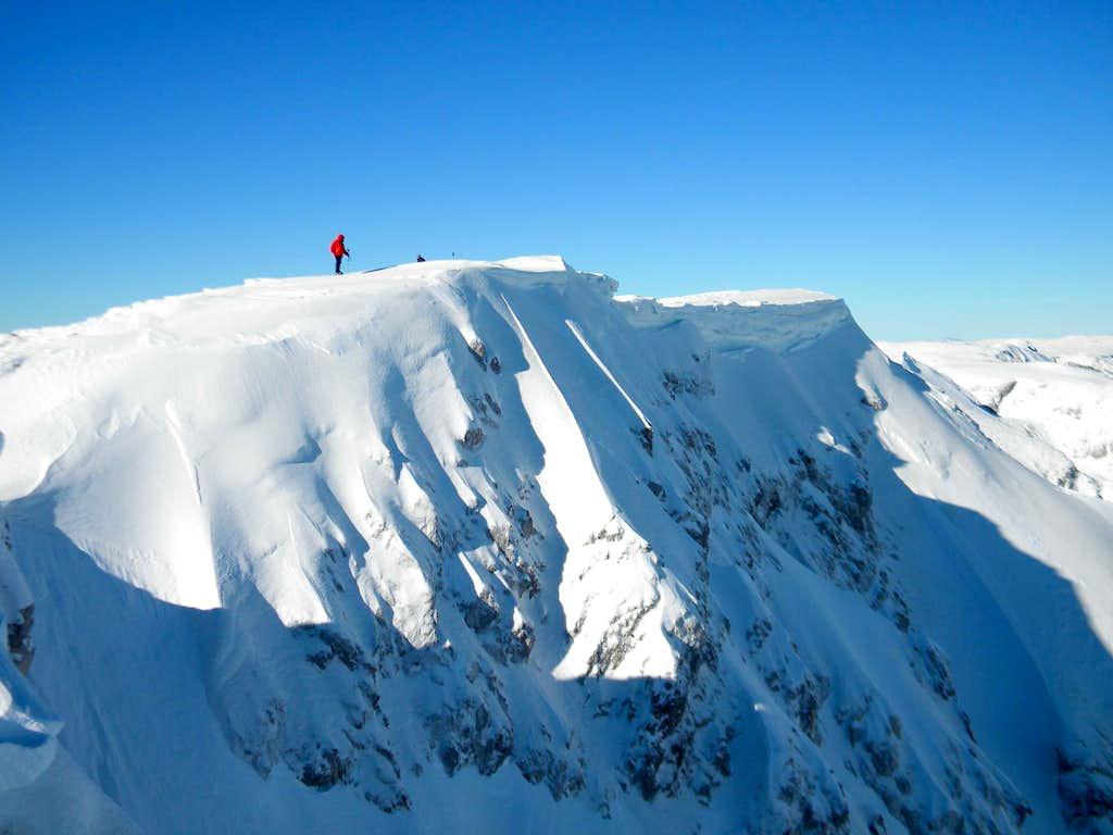 On Volujak ridge