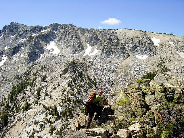 Traverse from Crystal Crag