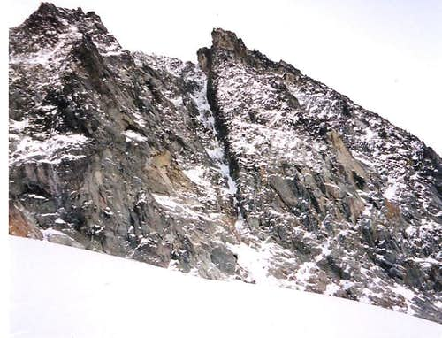 NW Ice Couloir, Second Ascent