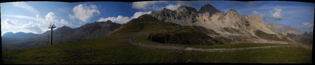 panoramica della cresta del Costabella