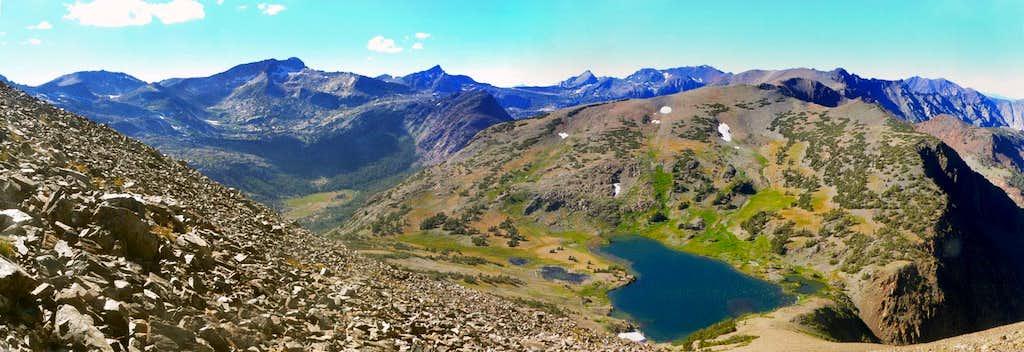 Tioga Peak north pano