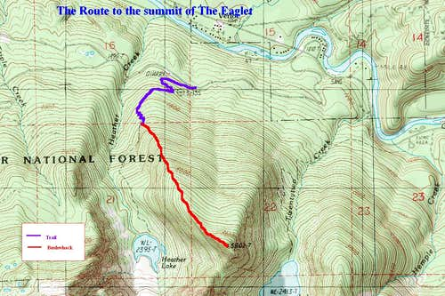 The Route up the Eaglet