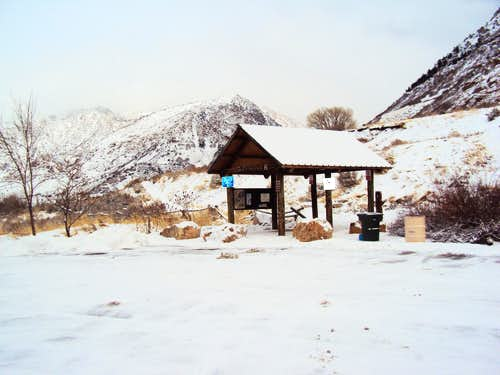 Ogden 22nd Street Trailhead