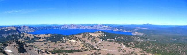Crater Lake from Mount Scott