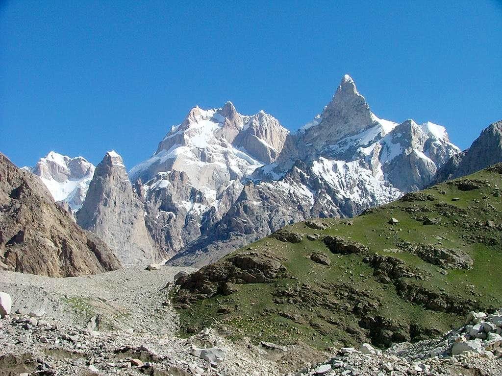 Baintha Brakk (Ogre) 7,285m, Karakoram, Pakistan