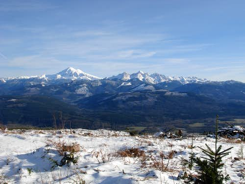 Whacme Mountain Summit View