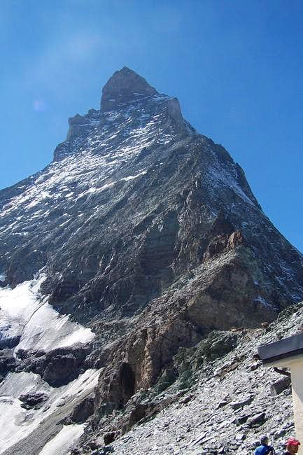 Hornli ridge from...