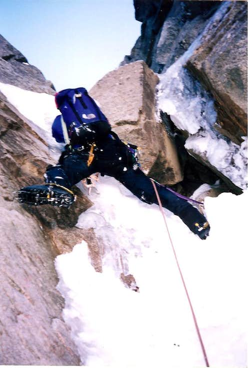 NW Ice Couloir - Eldorado Peak
